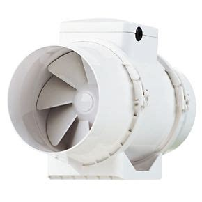 screwfix bathroom extractor fan xpelair ximx100 33w in line mixed flow extractor fan
