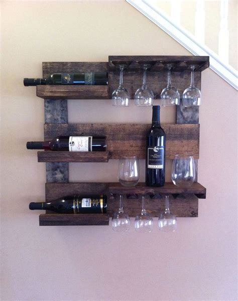 Wine Shelf Rack by Best 25 Wine Glass Rack Ideas On Wine Glass