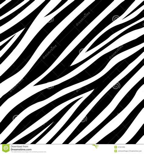 seamless animal pattern vector vector illustration of seamless zebra pattern stock vector