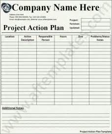 Project action plan template xls project action plan template excel
