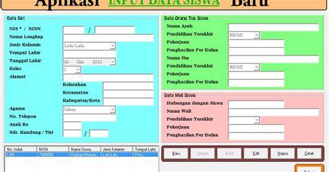 cara mudah membuat aplikasi data dan profil siswa versi download aplikasi data dan profil data siswa terbaru dan