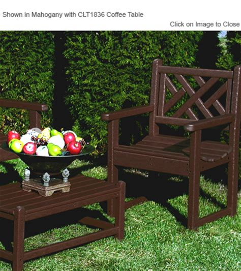 chippendale patio furniture polywood 174 cdb24 chippendale garden chair polywood furniture