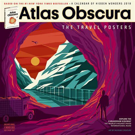 libro atlas obscura page a day calendar atlas obscura books and calendars