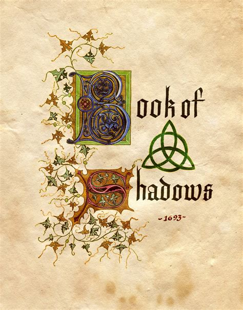 book of shadows pictures book of shadows by charmed bos on deviantart