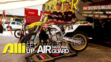 motor cross vidio setup brett metcalfe motocross alli sports