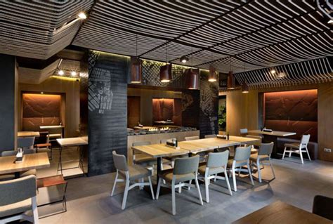 restaurant interior contemporary twist to the interior design of a restaurant