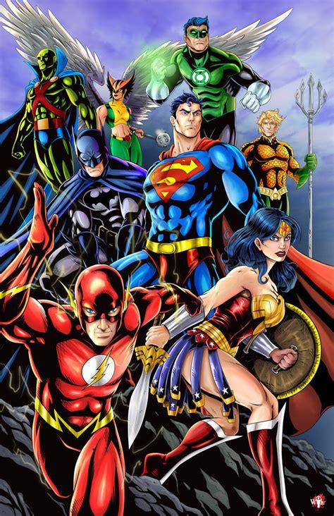 Dc Comics Justice League 14 April 2017 dc justice league by wil woods on deviantart