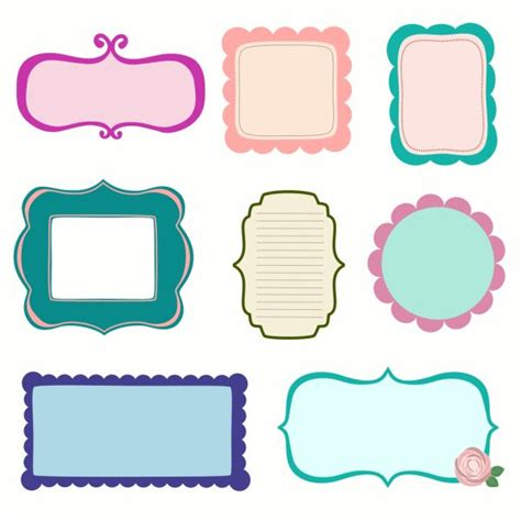 printable tags scrapbooking 25 best ideas about scrapbook frames on pinterest