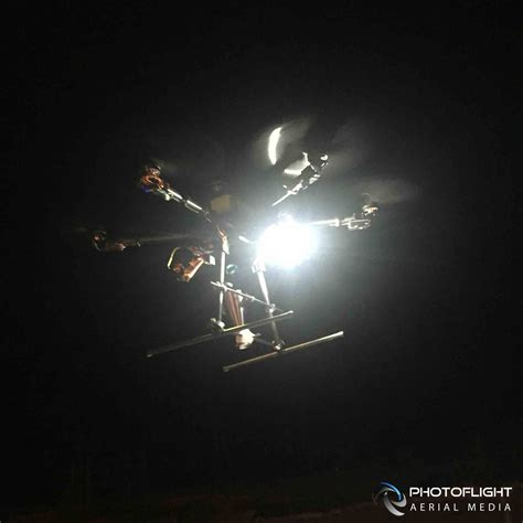 drone with and lights aerial drone photography service at