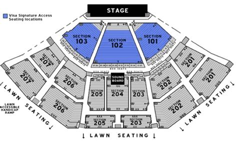 aaron s lakewood hitheatre seating chart lakewood hitheatre