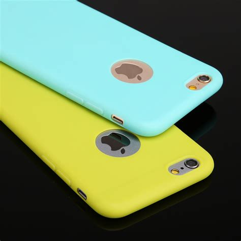 Silikon Ultrathin Iphone 6g 4 7 Inch iphone 6 soft silicon phone 4 7 coque with logo window