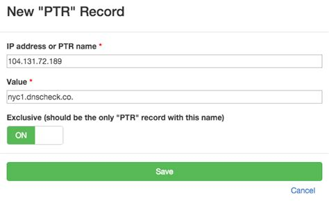 Ptr Lookup Check Dns Records Ptr Records Dns Check