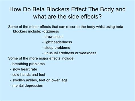 Blockers In Beta Blockers