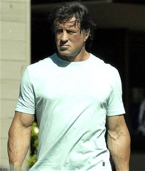 Steroids Sylvester Stallone And Jintropin by Does Sylverster Stallone Make The Come Back With Steroid