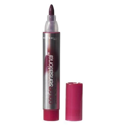 Maybelline Lip Stain maybelline color sensational lip stain 65 cranberry crush