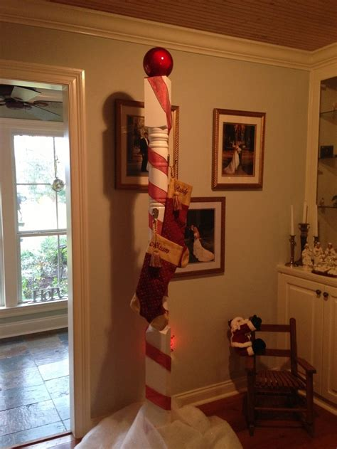 north pole stocking holder   grandkids christmas  favorite pinterest stockings