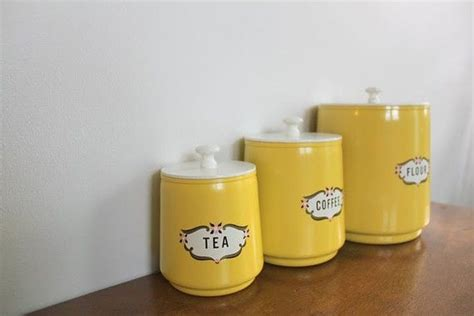 cute kitchen canister sets 49 best ideas about vintage canisters on pinterest