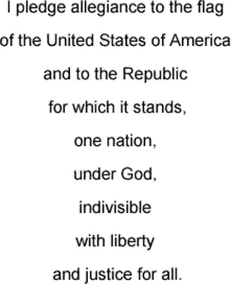 printable lyrics to the pledge of allegiance pledge of allegiance song lyrics and sound clip