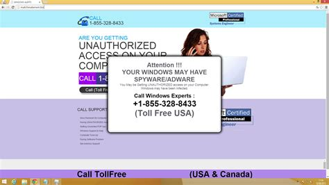 Windows Firewall Alerts: Indian Tech Support Scam