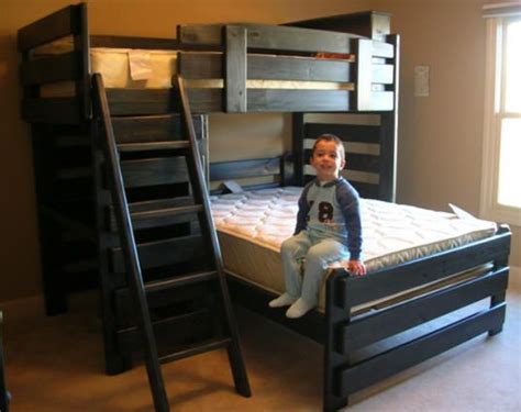 L Shaped Low Bunk Beds Best 25 L Shaped Bunk Beds Ideas On