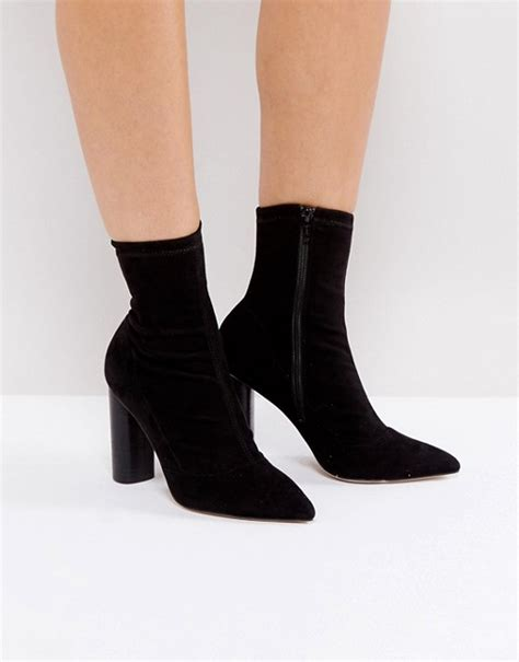 office office sock heeled ankle boots