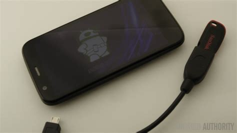 android usb drive android customization how to connect a usb flash drive