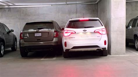 2014 kia sorento commerical cuv folding mirrors and