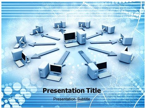 powerpoint template network image collections powerpoint