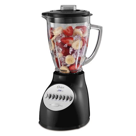 Www Blender oster 174 14 speed blender with blend n go 174 cup black at