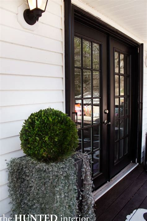 black french doors exterior video