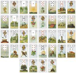 lenormand große tafel gro 223 e tafel 8x4 4 madame lenormand