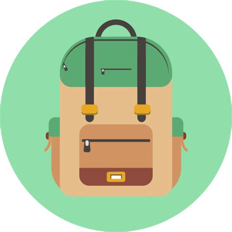 bags logo png backpack study learn education bag school icon