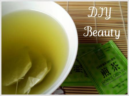 Viva Toner Green Tea diy using green tea wash and toner