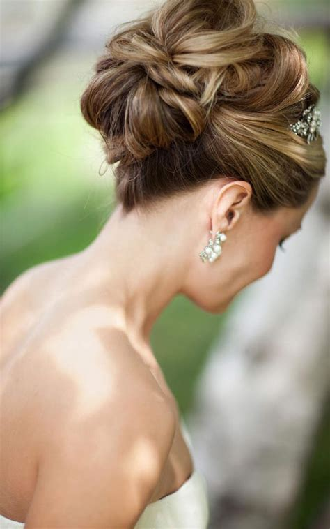 Wedding Hair Buns For Hair by Stylish High Bun Hairstyles For Your Wedding Day