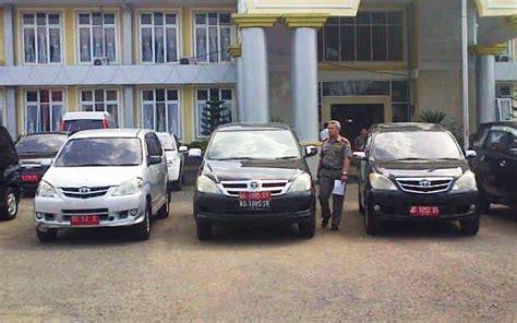 Lu Untuk Mobil kendaraan dinas bengkuluekspress