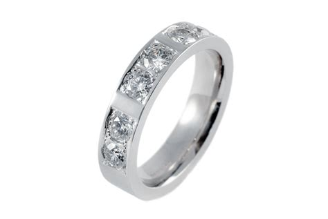 mens wedding rings white gold mens 18ct white gold 6 wedding ring