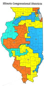 districts map illinois congressional districts 2011 map