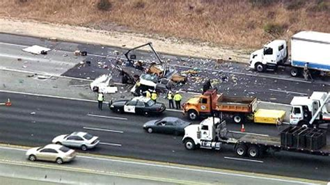 car crash on the 60 freeway two killed in freeway crash in pomona truckersreport