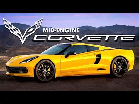 leaks about the 2018 mid engine corvette c8!! | doovi