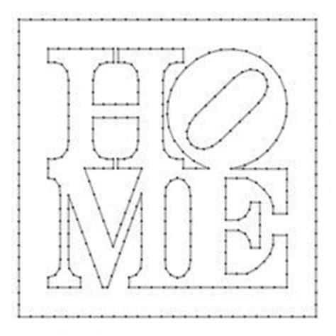 template pattern gang of four free printable string art patterns bing images craft