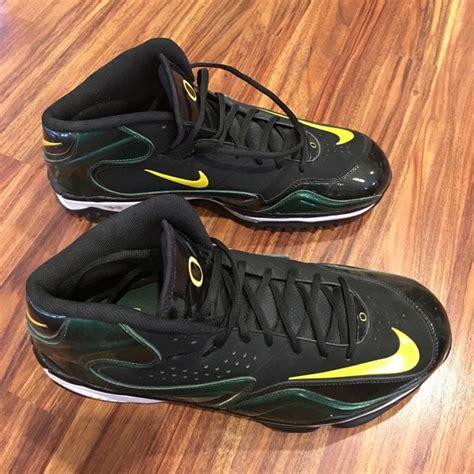 oregon ducks football shoes nike new nike oregon ducks football cleats mens 14 from