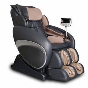 fauteuil massant sur