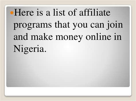 Make Money Online In Nigeria - how to make money online in nigeria
