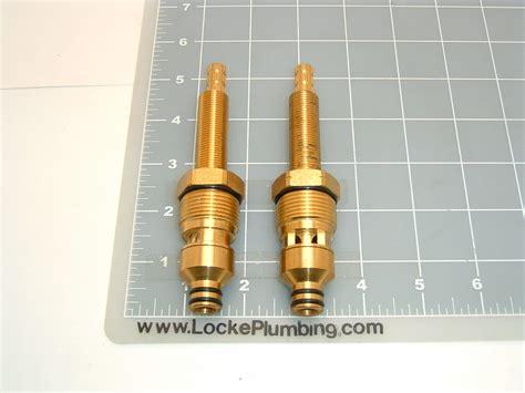 Harden Plumbing Fixtures by Harden 185 H C Ceramic Dual Stems Per Pair Locke Plumbing