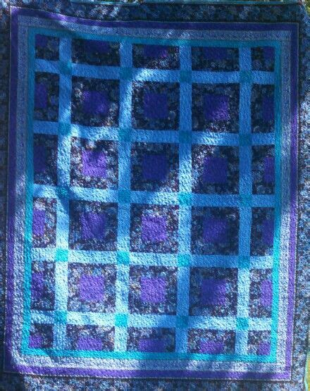 Blue And Purple Quilt by Purple Black And Blue Quilt Quilt