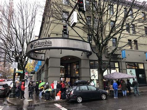 Hermans This Saturday At The Ave Store by In Flap Homelessness And Safety Columbia Sportswear