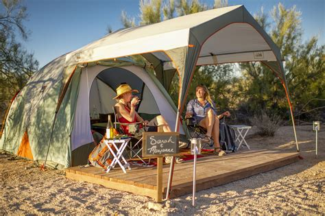 Rei Kingdom 6 Garage by Gear Services Amenities Make Cing Easier Than