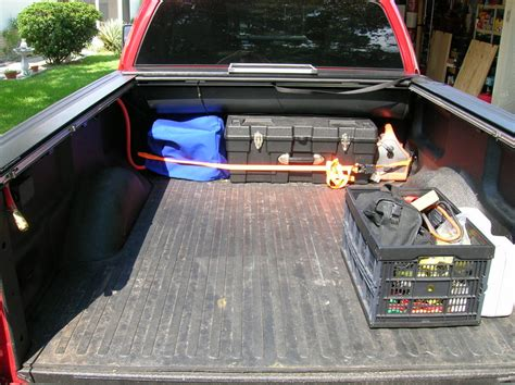 truck bed air compressor bed cap suggestions ford truck enthusiasts forums