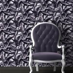 grey velvet wallpaper uk 3d effect velvet silk fabric grey black crumpled crushed