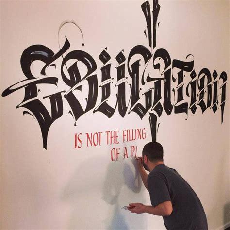 luca barcellona calligraphy calligrafia lettering